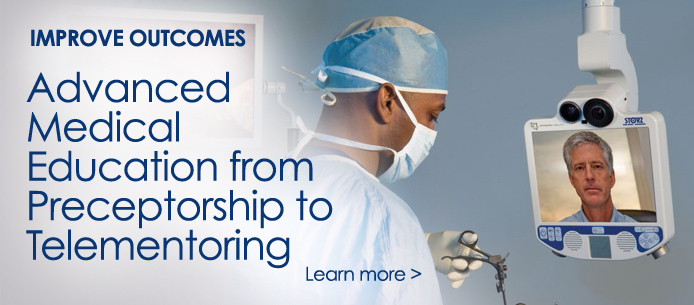 American Medical Foundation Advanced Medical Education from Preceptorship to Telementoring